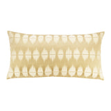 Gold Ikat Throw Pillow