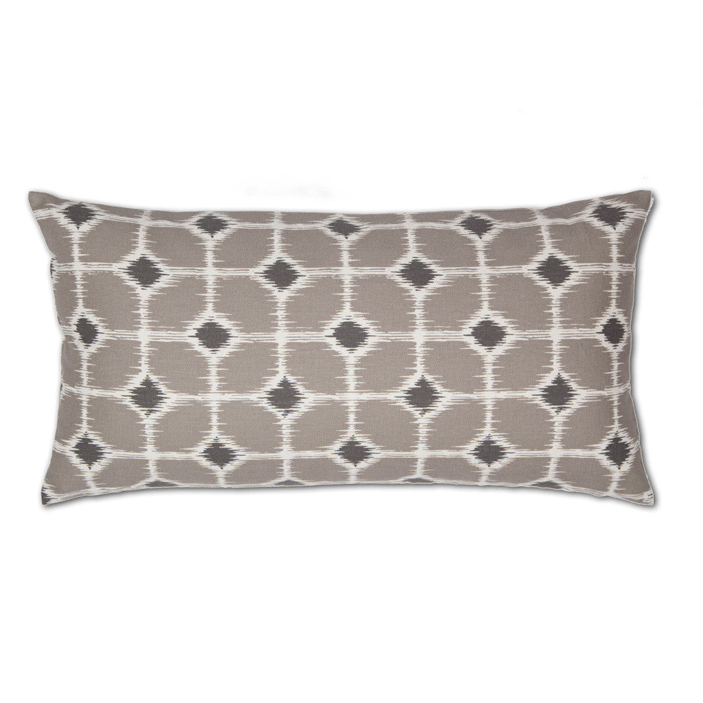 the gray and white ikat diamonds throw pillow crane canopy. Black Bedroom Furniture Sets. Home Design Ideas