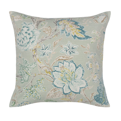The Green Summerdale Floral Square Throw Pillow