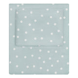 Porcelain Green Polka Dots Sheet Set 2 (Fitted & Pillow Cases)