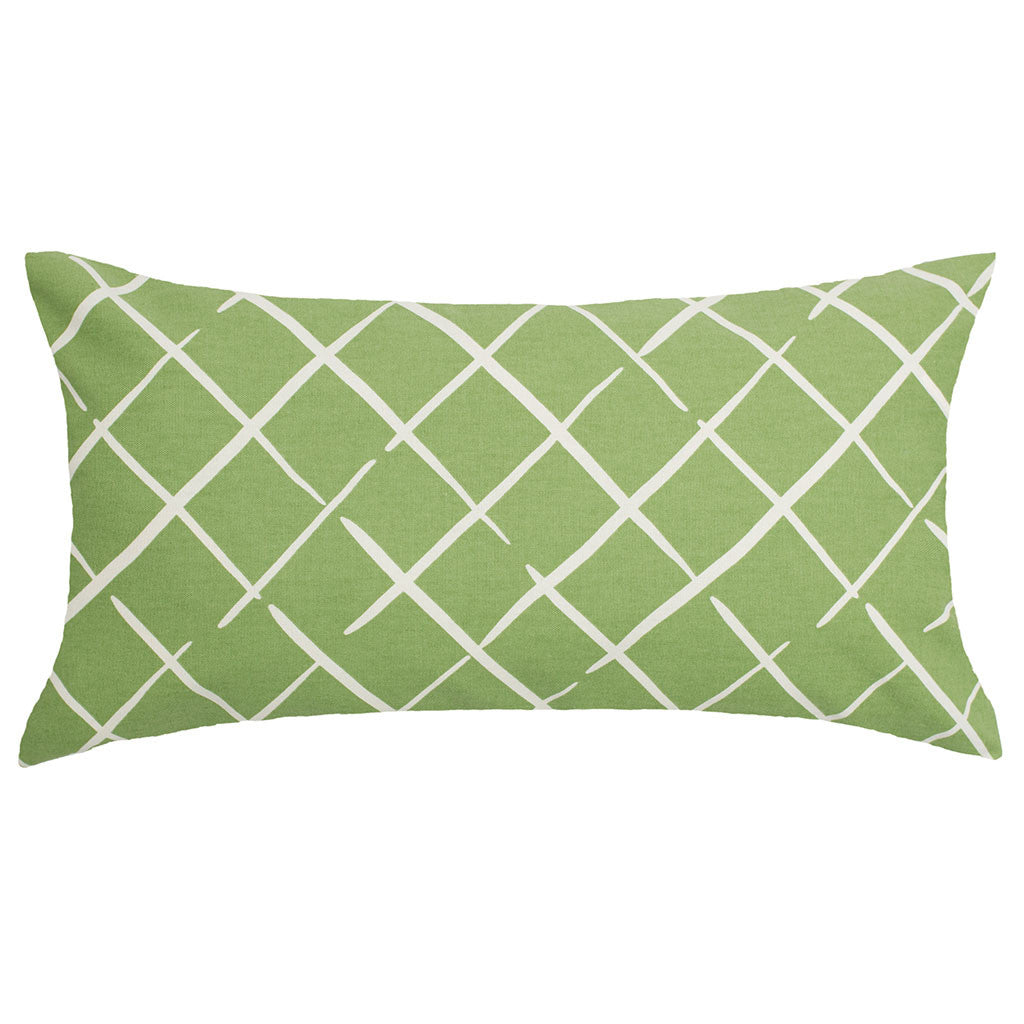 Bedroom inspiration and bedding decor | Green Diamonds Throw Pillow Duvet Cover | Crane and Canopy