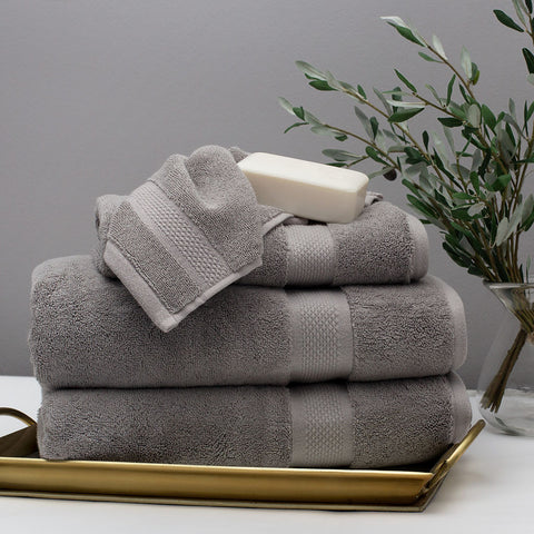 Bedroom inspiration and bedding decor | The Classic Grey Towels Duvet Cover | Crane and Canopy : canopy towels - memphite.com