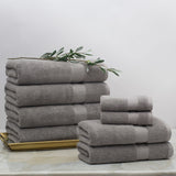 Classic Grey Towel Spa Bundle (2 Wash + 2 Hand + 4 Bath Towels)