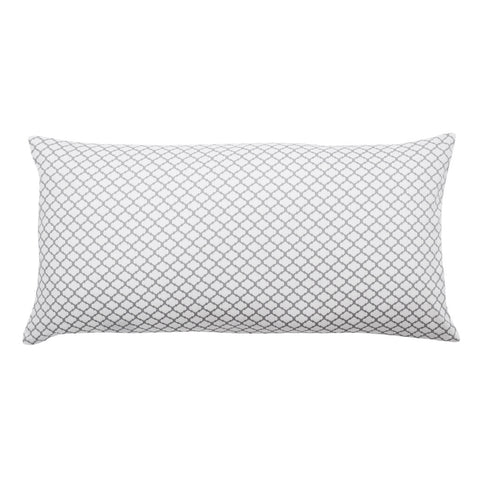 The Grey Cloud Throw Pillow