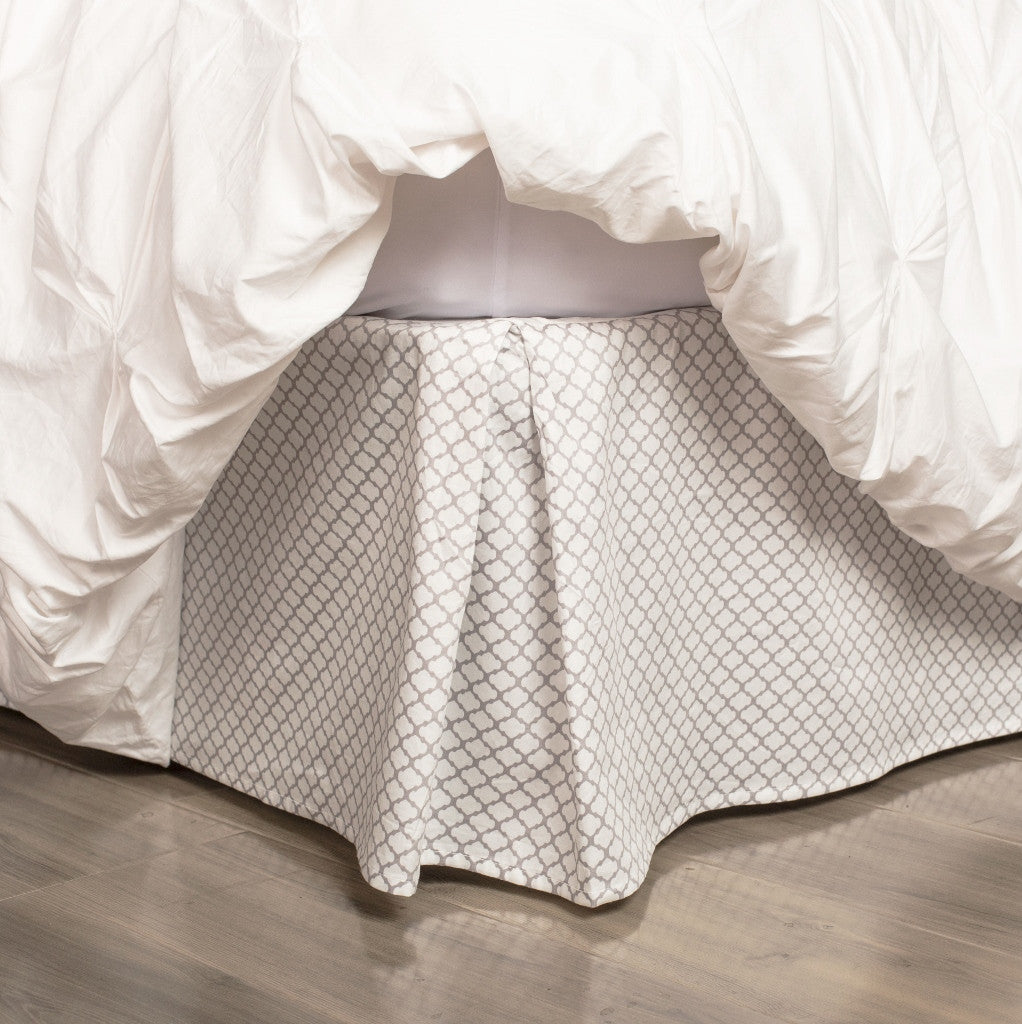 Grey Bed Skirt Grey Cloud Bed Skirt Crane Canopy