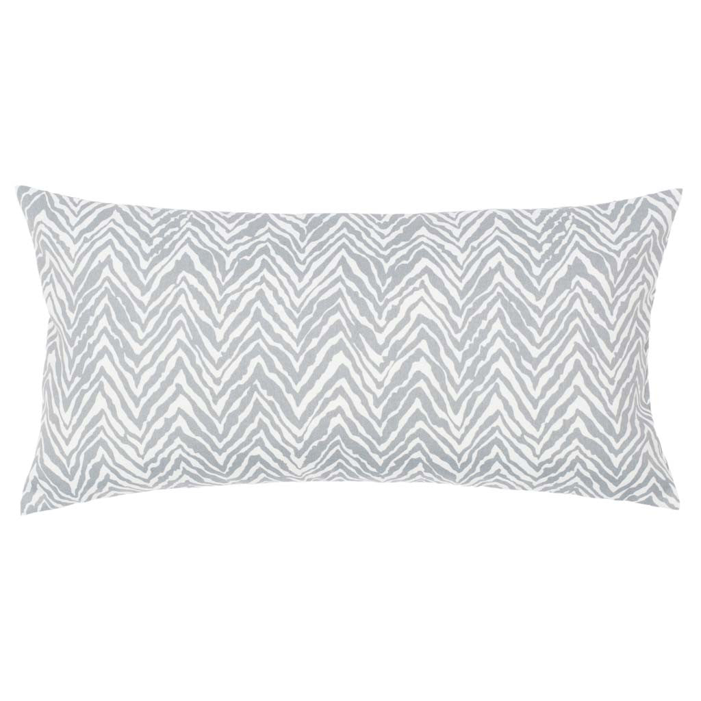 Bedroom inspiration and bedding decor | The Grey Zebra Chevron Throw Pillows | Crane and Canopy