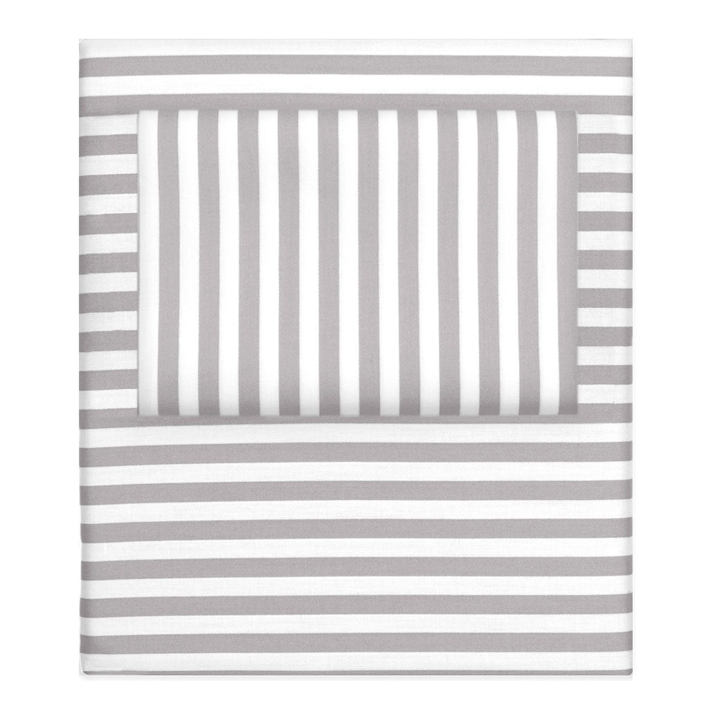 Striped Sheet Set The Gray Striped Sheets Crane Canopy
