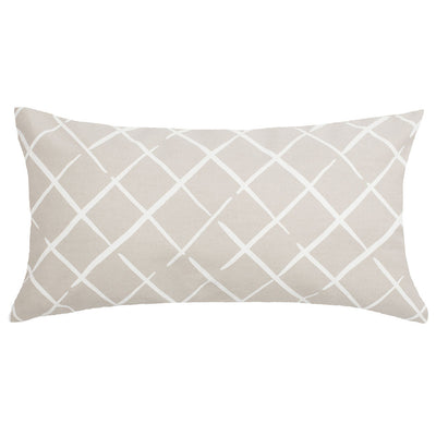 Grey Diamonds Throw Pillow