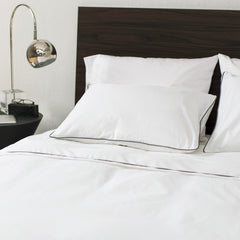 Great site for designer bedding | The Hayes Nova Soft White