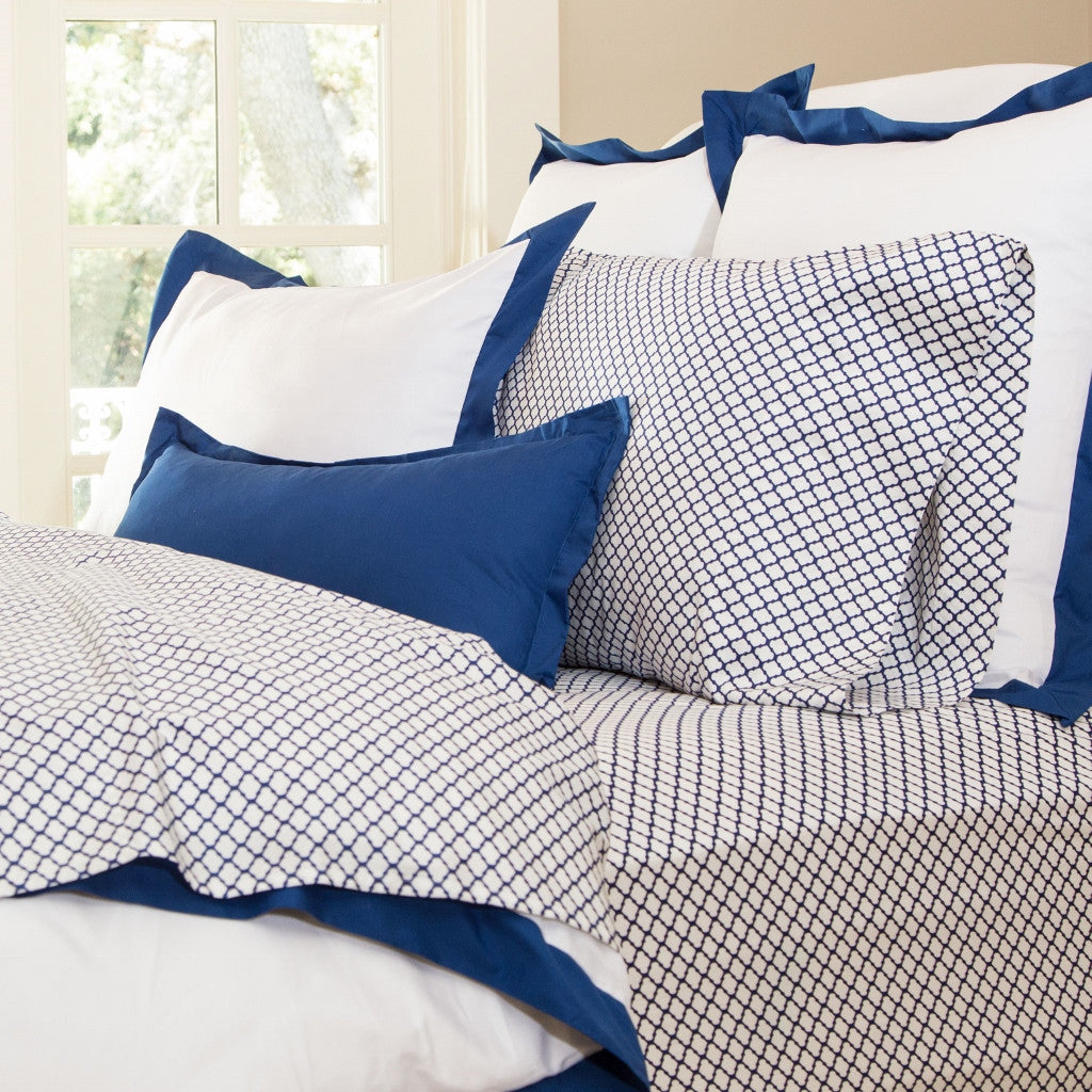 Bedroom inspiration and bedding decor | The Blue Cloud Sheet Sets | Crane and Canopy