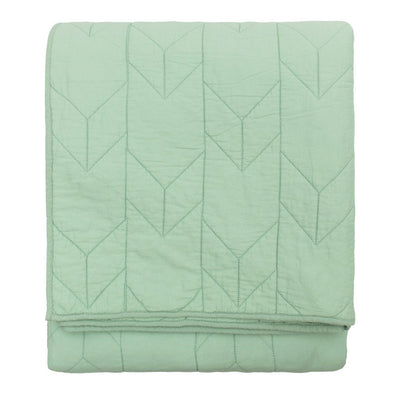 Bedroom inspiration and bedding decor | Seafoam Green Chevron Quilt Duvet Cover | Crane and Canopy