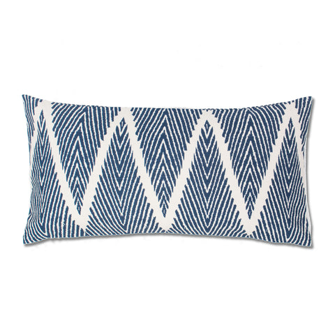 The Palm Chevron Throw Pillow