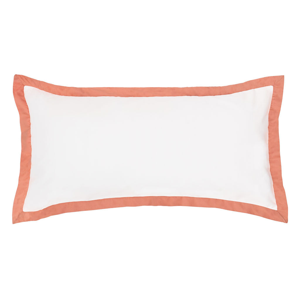 Bedroom inspiration and bedding decor | The Linden Coral Throw Pillows | Crane and Canopy