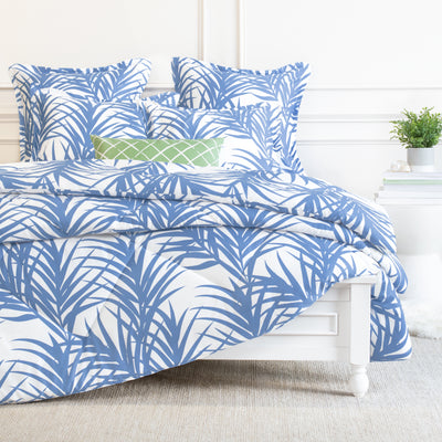 Bedroom inspiration and bedding decor | Laguna Blue Comforter Duvet Cover | Crane and Canopy