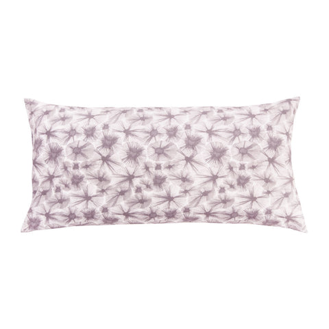 Lavender Starburst Throw Pillow