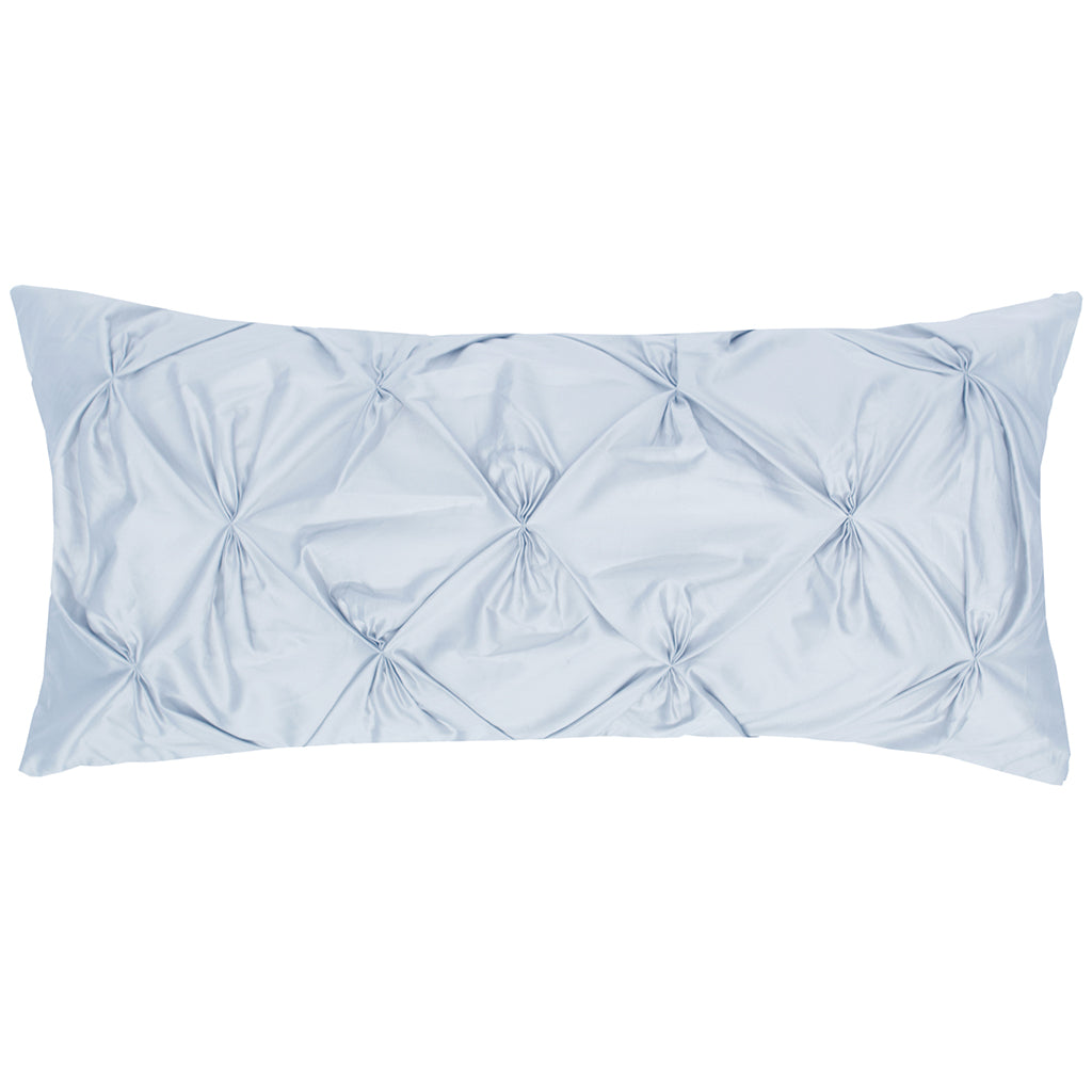 Light Blue Pintuck Throw Pillow Crane Canopy
