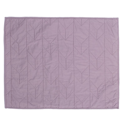 Lilac Purple Chevron Quilt Sham