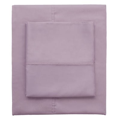 Lilac 400 Thread Count Sheet Set (Fitted, Flat, & Pillow Cases)