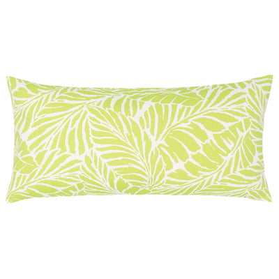 Lime Islands Throw Pillow
