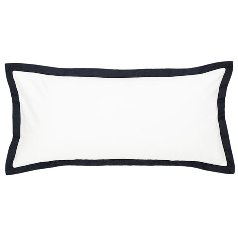 Black Linden Throw Pillow