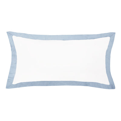 Bedroom inspiration and bedding decor | The Linden French Blue Throw Pillows | Crane and Canopy