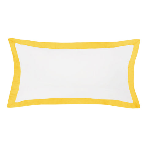 The Linden Yellow Throw Pillow