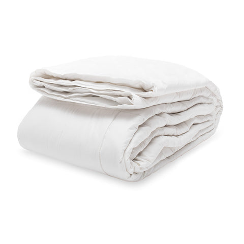 The Luxe Cotton Filled White Comforter