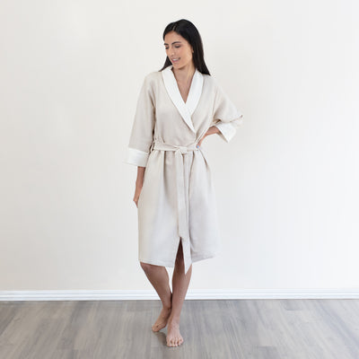 Bedroom inspiration and bedding decor | The Luxe Reverie Robes | Crane and Canopy