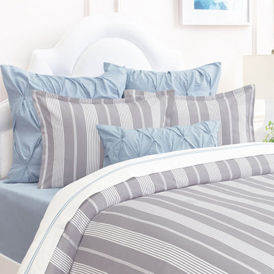 Grey Marina Duvet Cover