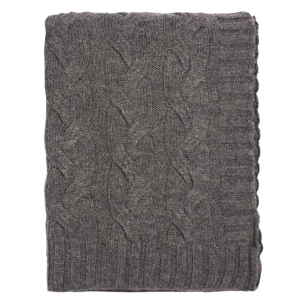 Bedroom inspiration and bedding decor | The Dark Grey Merino Wool Throw | Crane and Canopy