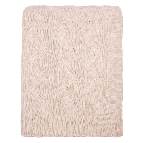 The Sand Merino Wool Throw