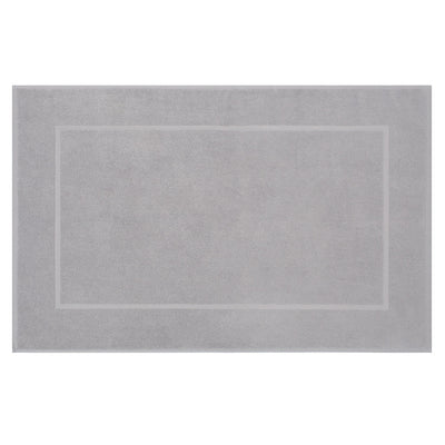 Bedroom inspiration and bedding decor | The Mist Grey Bath Mat Duvet Cover | Crane and Canopy