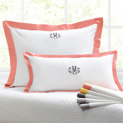 Bedroom inspiration and bedding decor | The Linden Apricot Throw Pillows | Crane and Canopy