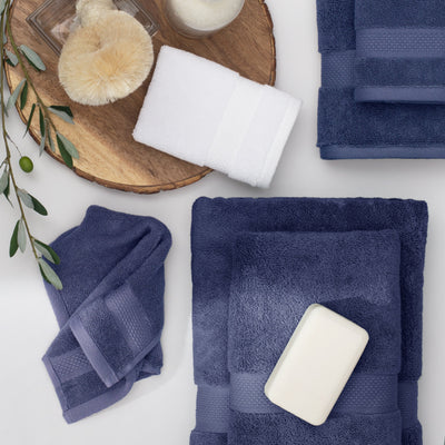 Classic Navy Bath Sheet