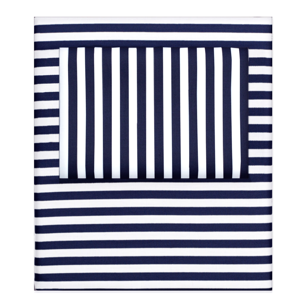 Striped Sheets The Navy Striped Sheets Crane Canopy