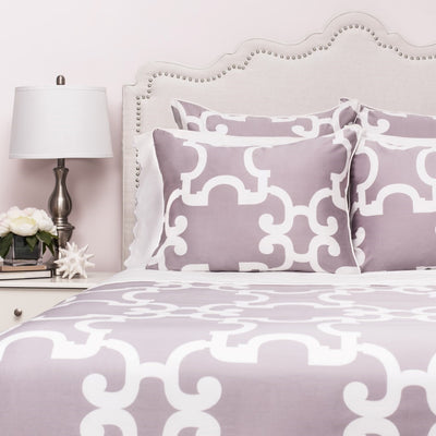 Bedroom inspiration and bedding decor | The Noe Quartz Duvet Cover | Crane and Canopy