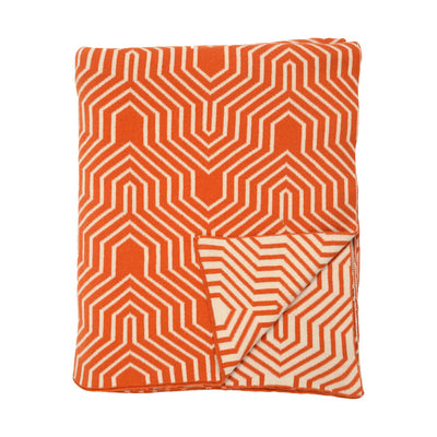 Orange Arrows Throw