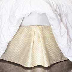 Yellow Bed Skirt Yellow Cloud Bed Skirt Crane Amp Canopy