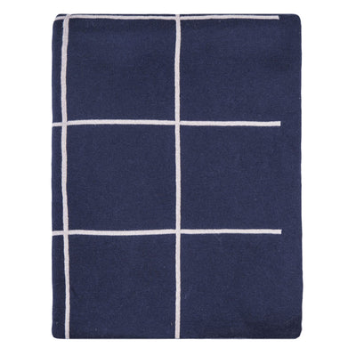 Navy Pane Throw