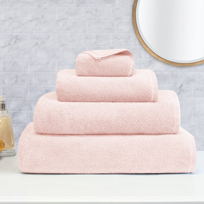 Bedroom inspiration and bedding decor | The Plush Pink Towels Duvet Cover | Crane and Canopy