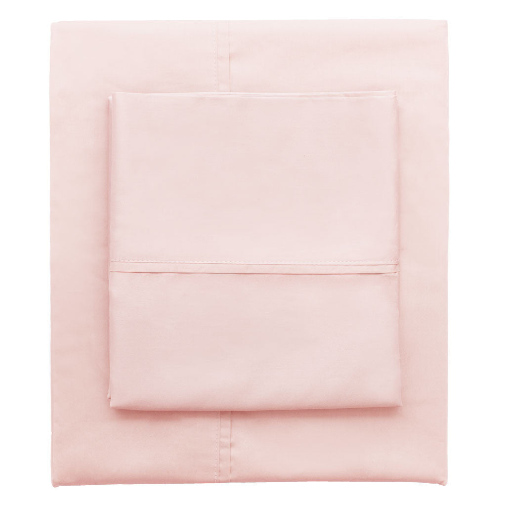 Bedroom inspiration and bedding decor | Pink 400 Thread Count Sheet Set 2 (Fitted & Pillow Cases)s | Crane and Canopy