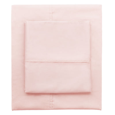 Pink 400 Thread Count Sheet Set 2 (Fitted & Pillow Cases)
