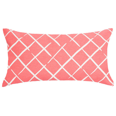 Bedroom inspiration and bedding decor | The Coral Diamonds Throw Pillows | Crane and Canopy