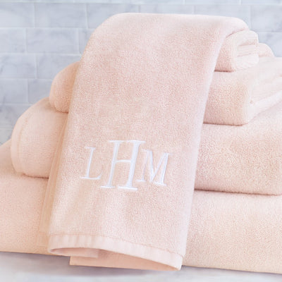 Plush Pink Towel Essentials Bundle (2 Wash + 2 Hand + 2 Bath Towels)