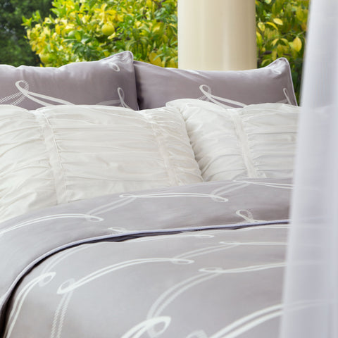 bedroom inspiration and bedding decor the piper gray duvet cover crane and canopy - Modern Duvet Covers