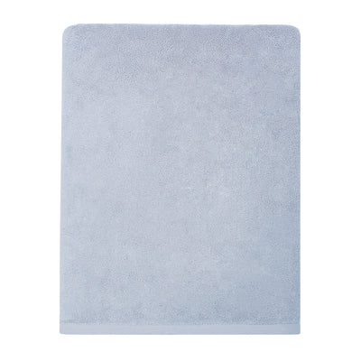 Plush Ice Blue Bath Sheet