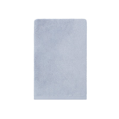 Plush Ice Blue Hand Towel