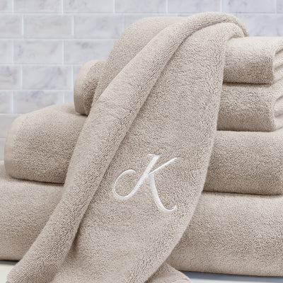 Plush Light Beige Towel Essentials Bundle (2 Wash + 2 Hand + 2 Bath Towels)