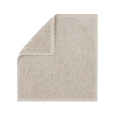 Plush Light Beige Washcloth