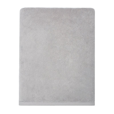 Plush Mist Grey Bath Sheet